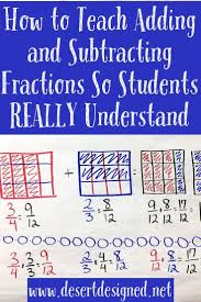 a great strategy for teaching students to add and subtract