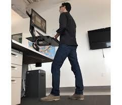 standing desk on flipboard