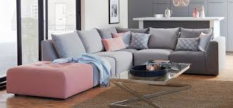 modular sofas for small spaces exquisite gray modular sofa for small spaces eva furniture