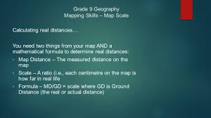Map Formula Grade 9 Geography Mapping Skills U2013 Map Scale Ppt Download