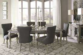 Dining Room Table Extendable by Silver Rectangular Extendable Dining Room Set