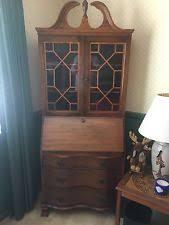 Antique Desk With Hutch Antique Desks Secretaries 1900 1950 Ebay