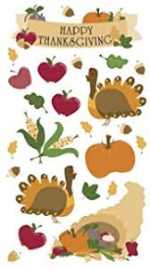 sticko harvest stickers happy thanksgiving
