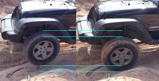 jeep sway bar did a sway bar connected disconnected comparison jeep