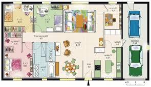 plan de maison de plain pied avec 4 chambres plan maison plain pied 120m2 4 chambres great plan maison plain