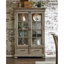 how to arrange a corner china cabinet farmhouse rustic grey china cabinets birch
