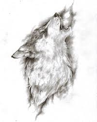 mystic wolf howling tattoo design by bunbun supreme tattooimages biz
