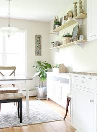 diy kitchen shelves easy and inexpensive farmhouse kitchen shelves no saws required