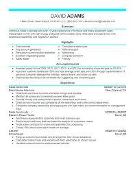 sales experience resume sample sales associate experience resume