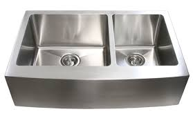 40 Inch Kitchen Sink 33 Inch Stainless Steel Curved Front Farm Apron 60 40 Bowl
