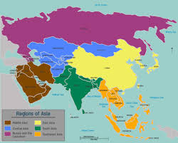 Asia Map With Countries by Map Of Asia With Countries And Capitals You Can See A Map Of