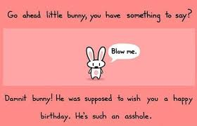 inappropriate birthday cards bunny 30 inappropriate birthday cards complex uk offensive