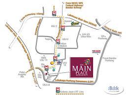 map usj 21 place usj 21