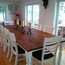10 ft farmhouse table 10 foot dining room table sustani me