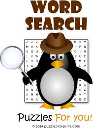 printable word search puzzles free games