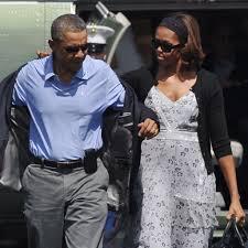 michelle obama vacation dresses popsugar fashion