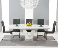Colored Leather Dining Chairs Chairs Awesome Grey Fabric Dining Chairs Grey Fabric Dining