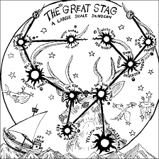 the great stag u2013 a stellar one page dungeon blog of holding