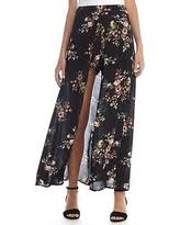 cyber monday sale hallie floral high low maxi skirt