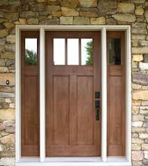 Exterior Door Pictures Exterior Doors Craftsman Style Front Door With Sidelights