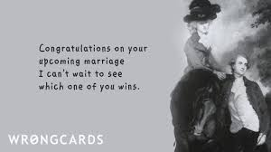 wedding quotes ecards wedding ecard upcoming marriage wrongcards