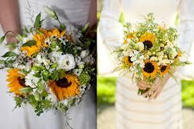 Sunflower Bouquets Elegant Sunflower Wedding Bouquet Elizabeth Anne Designs The