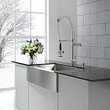 kraus commercial pre rinse chrome kitchen faucet kraus commercial pre rinse chrome kitchen faucet kitchen ideas