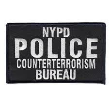 counter terrorism bureau insignia emblem nypd counterterrorism bureau 5x3 patch