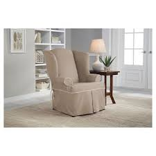 wingchair slipcovers slipcovers u0026 futon covers target