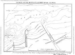 Cook County Illinois Map by Calumet Rivers Cal Sag Channel Paddling Fishing Page