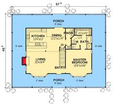 Floor Plans With Wrap Around Porch by House Floor Plans With Wrap Around Porches