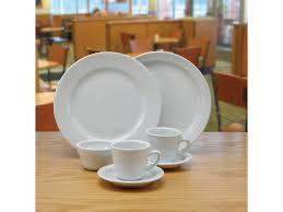 bright white dinnerware products