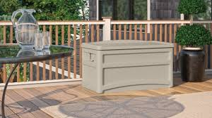 73 gallon deck box with seat suncast corporation
