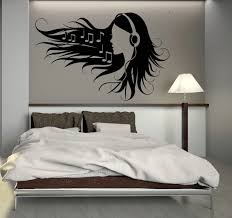 popular teen bedroom decoration cheap and wall decals for