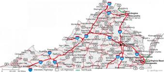 Virginia Map by Map Of Virginia Cities Map Holiday Travel Holidaymapq Com
