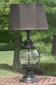 Patio Table Lights Kenroy Home Hatteras Outdoor Table L