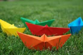 How To Make Boat From Paper - how to make a paper boat ted s