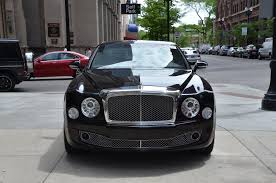 matte black bentley mulsanne 2013 bentley mulsanne stock gc1628a for sale near chicago il
