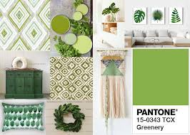 pantone color of the year 2017 bringing greenery inside within