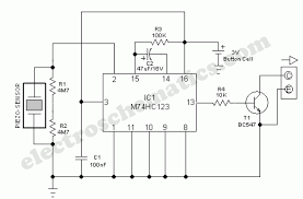 vibration sensor detector circuit