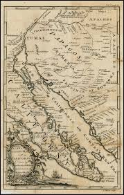 california map society an accurate map of california by the society of jesuits