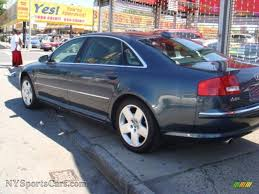 northern audi 2004 audi a8 l 4 2 quattro in northern blue pearl effect photo 5