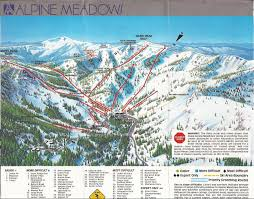 alpine meadows ski area skimap org
