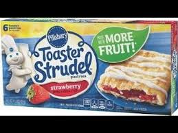 Pillsbury Toaster Strudel Flavors Pillsbury Toaster Strudel Fails Review Youtube