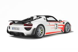 modelcar porsche 918 spyder weissach package limited to 500 pcs gt