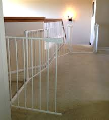 Baby Gates For Bottom Of Stairs With Banister Custom Large And Wide Child Safety Gates Baby Safe Homes