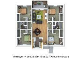 4 bedroom apartment floor plans u0026 pricing u2013 southern downs