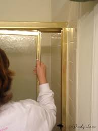 how to remove sliding shower doors life on shady lane