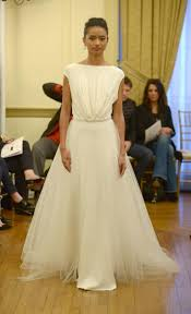 Bridal Fashion Week Wedding Dress by Texture Revives Tradition In Peter Langner U0027s Fall Winter 2016