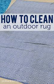 How To Clean An Outdoor Rug How To Clean An Outdoor Rug On Polka Dot Chair